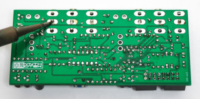 Eurorack VCA Solder center pin of jack