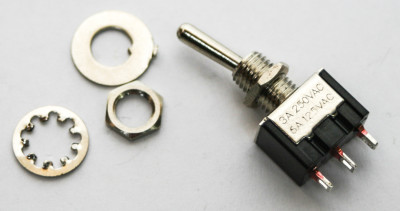 SPDT (On-Off-On) Switch Nuts