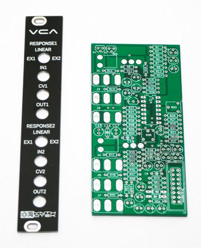 Eurorack VCA Panel & PCB