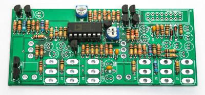 Eurorack VCA Transistors and IC