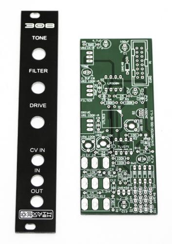 308 Distortion PCB & PANEL