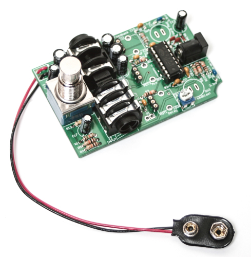 Cosmic Echo 9V Battery Clip & IC