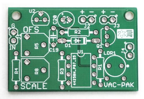 VAC PAK PCB