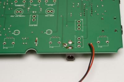 Nandamonium Assembly Step 5: Diode and 9V Clip