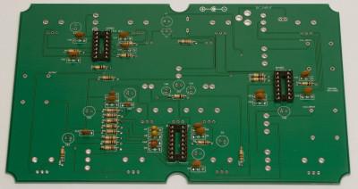 IC sockets soldered