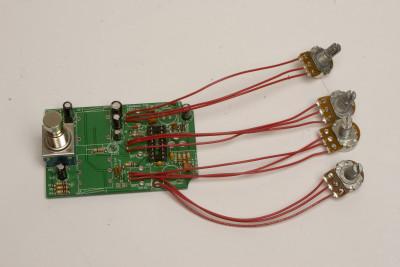 pots soldered!