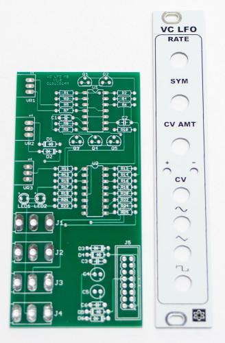 MST VC LFO PANEL & PCB