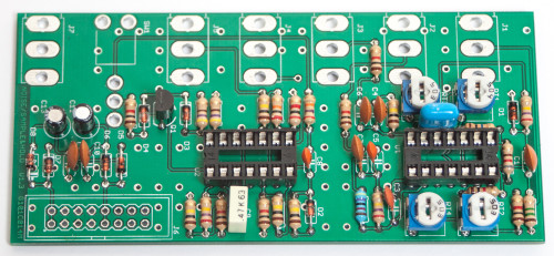 MST Noise / S&H / T&H Transistors & Electrolytic Caps