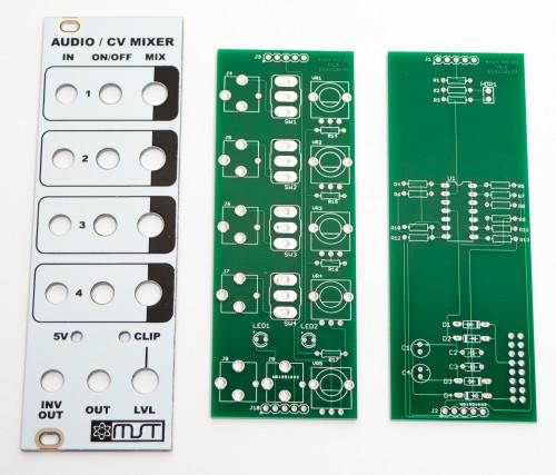 MST AUDIO CV MIXER PCBs & PANEL