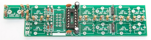 1U Stereo Mixer Capacitors