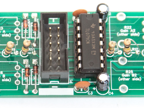 1U Stereo Mixer Power Header & IC