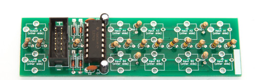 1U UNITY GAIN MIXER Power Header & IC