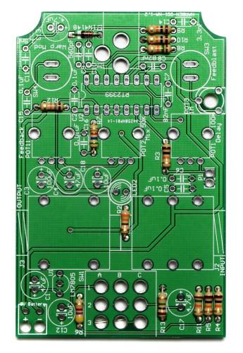 Cosmic Echo Resistors