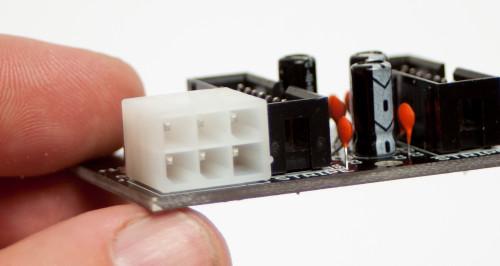 Distro Board Molex Connectors