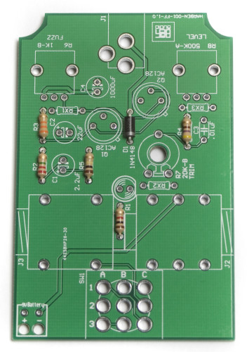 Face the Fuzz Resistors and Diode