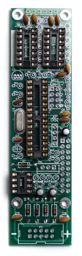MST Midi to CV IC Sockets