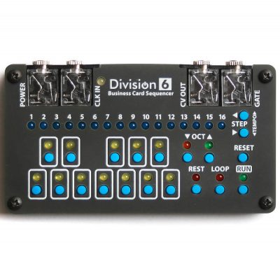 Division 6 Business Card Sequencer in Case
