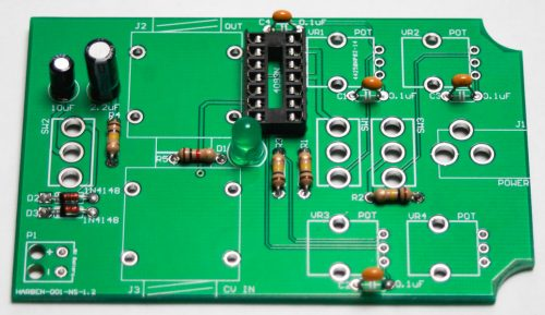 CHAOS NAND HANDHELD - LED & CAPACITORS