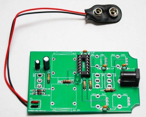CHAOS NAND HANDHELD - DC JACK & 9V Battery Clip