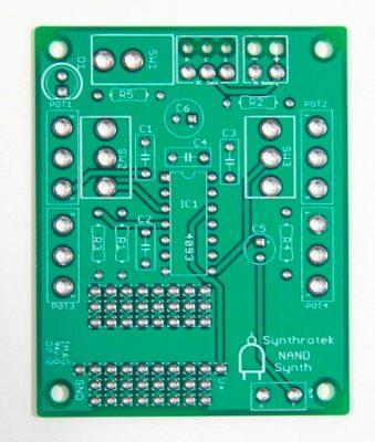 Chaos NAND Synthesizer | Synthrotek