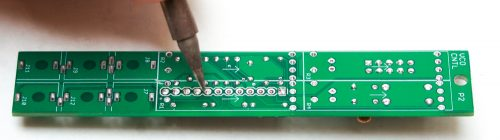 Synthrotek VCO Header Pin Soldering