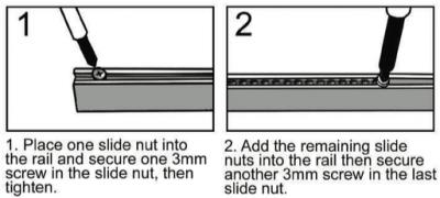 slide nut stuffing