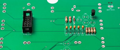 Nadamonium 2.3 Voltage Regulator and Eurorack Power Socket