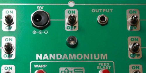 Nandamonium - LED placement 2