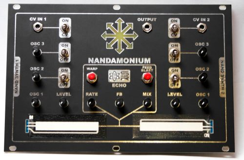 Nandamonium - EURORACK FINAL