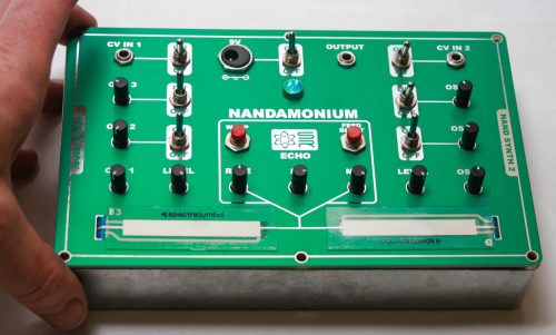 Console Nandamonium 9V battery - 4
