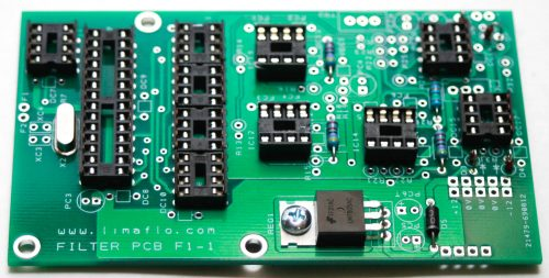 Limaflow Motomouth - Main Board IC Sockets