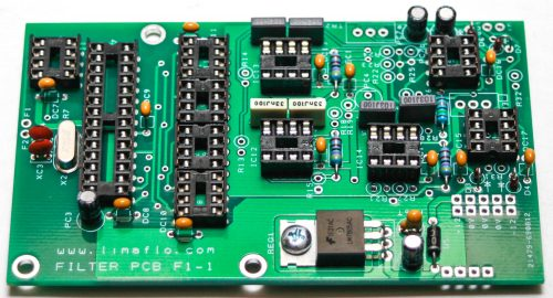 Limaflow Motomouth - Main Board Film & Electrolytic Capacitors