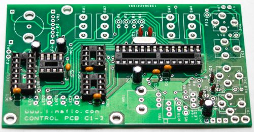 Limaflow Motomouth - Control Board Film & Electrolytic Capacitors