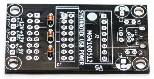 USB Power - Resistors