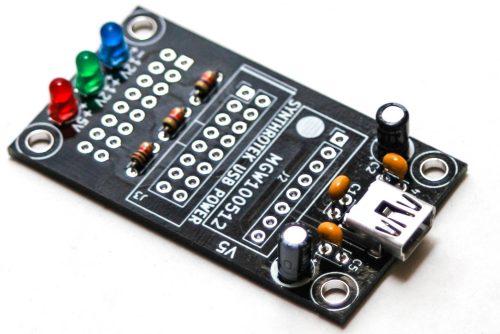 USB Power - Electrolytic Capacitors
